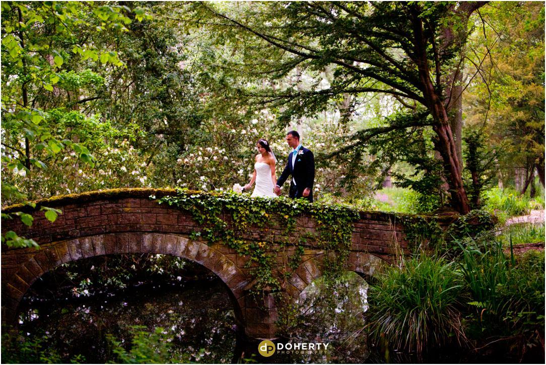 Hogarts wedding kissing bridge