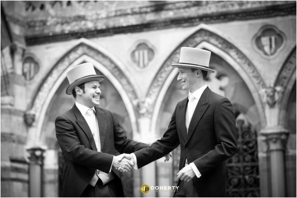 Ettington Park Wedding Groomsmen