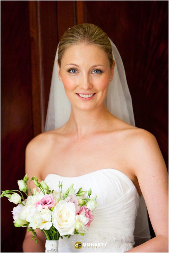 Ettington Park Wedding Bride