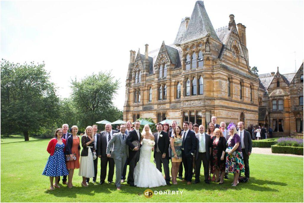 Ettington Park Wedding Group photo