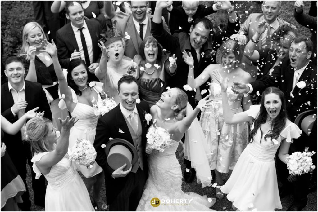 Ettington Park Wedding Photographer - Confetti