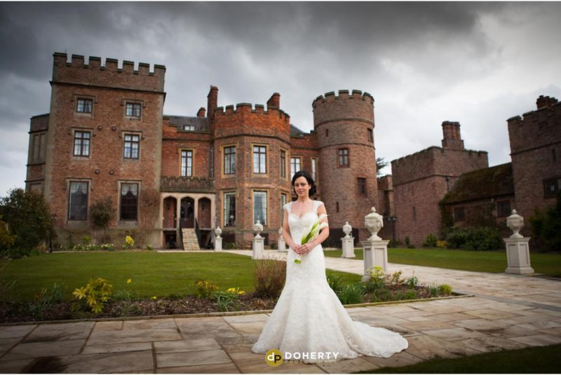 Rowton Castle Wedding Bride