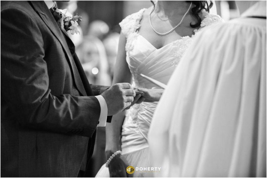 Exchange of rings at Church