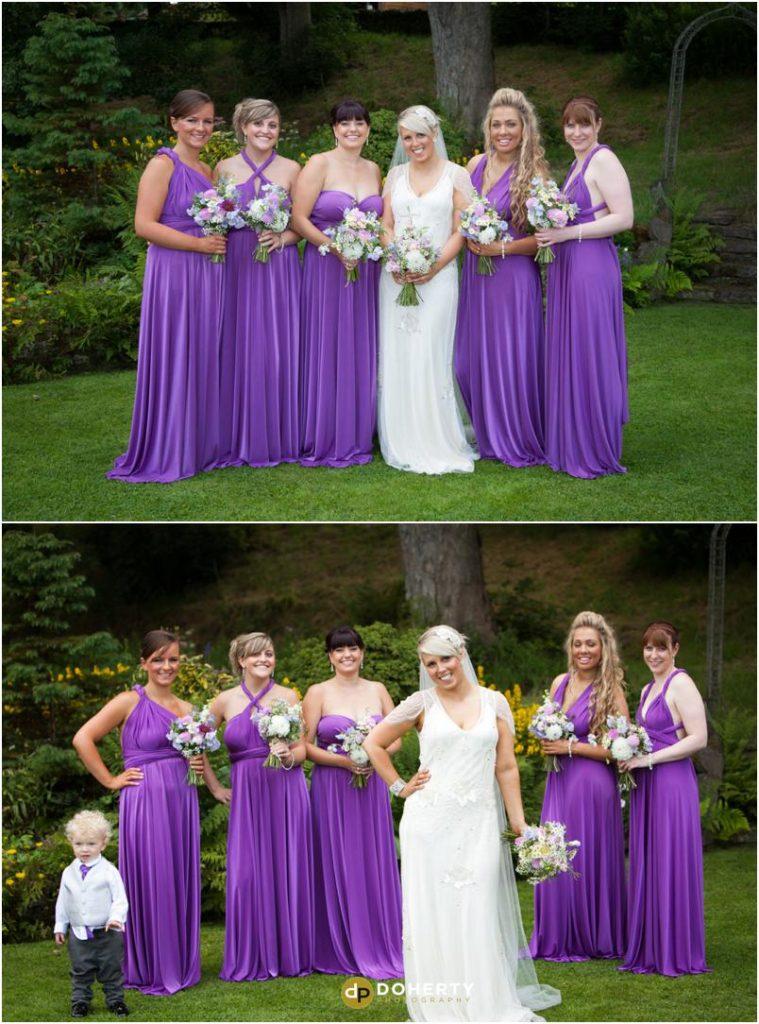 Ashes Barns Wedding Bridesmaids
