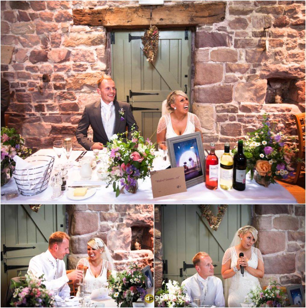 Ashes Barns Wedding Speeches photos