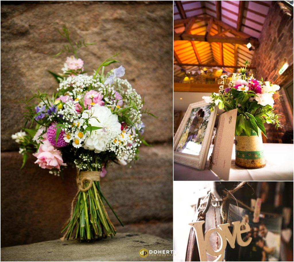 Ashes Barns Wedding Flowers