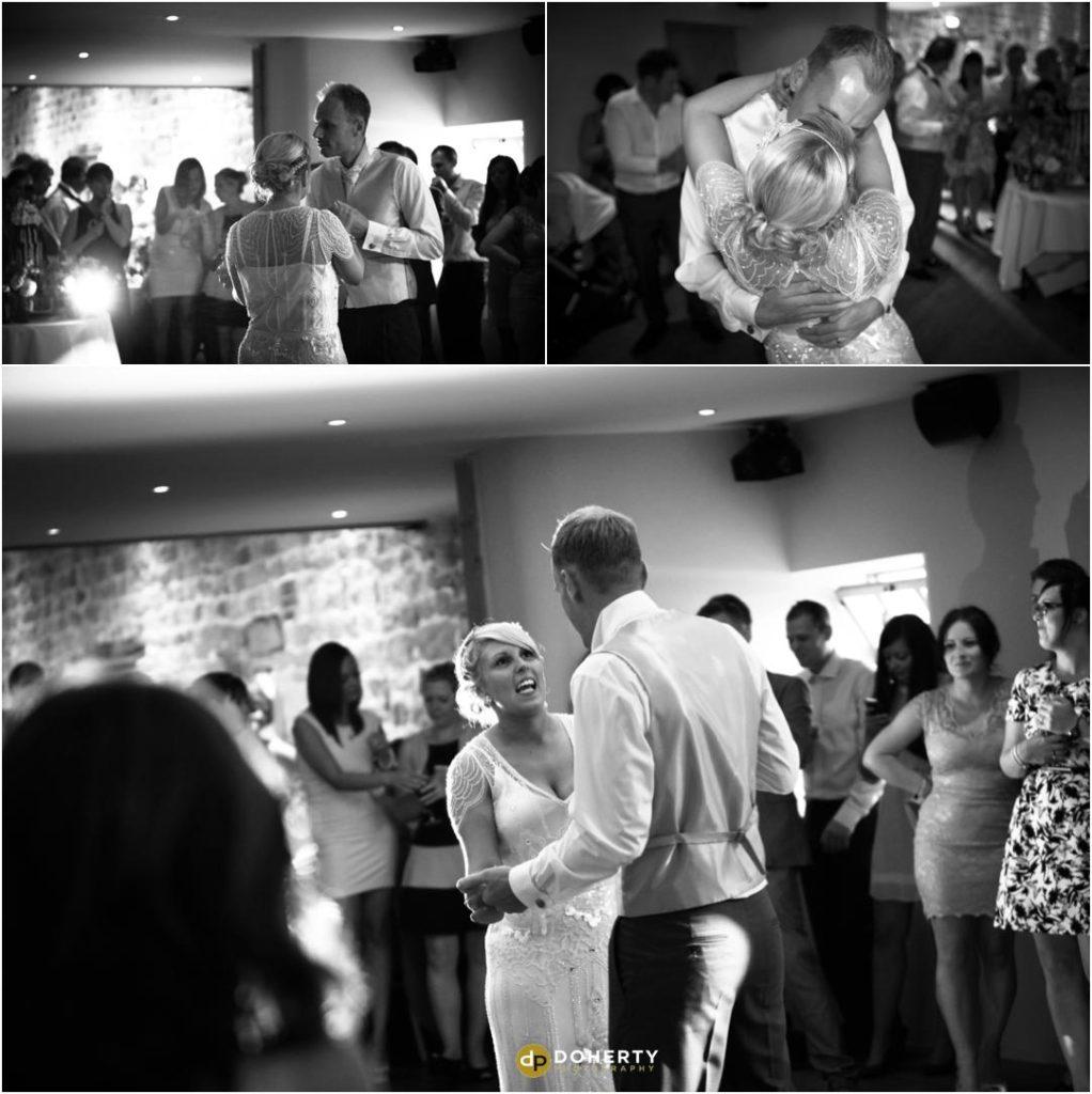 Ashes Barns Wedding First Dance