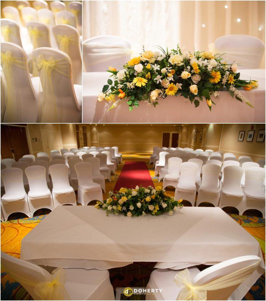 Wedding Ceremony Room - Marriott Forest of Arden