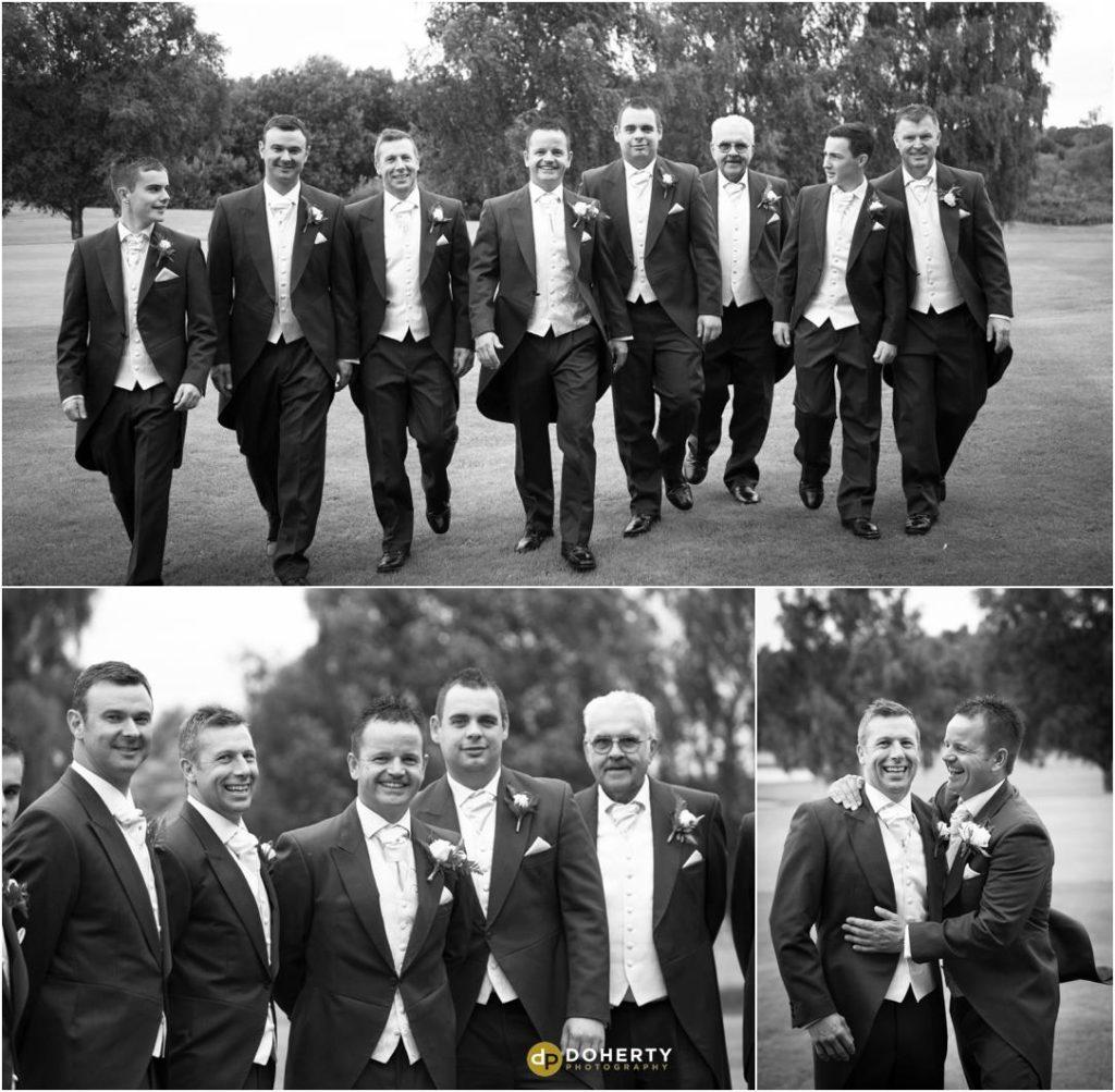 Wedding Groomsmen - Marriott Forest of Arden