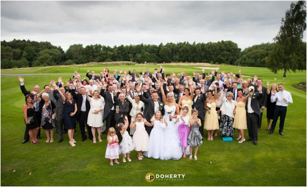 Wedding Group Photography - Marriott Forest of Arden