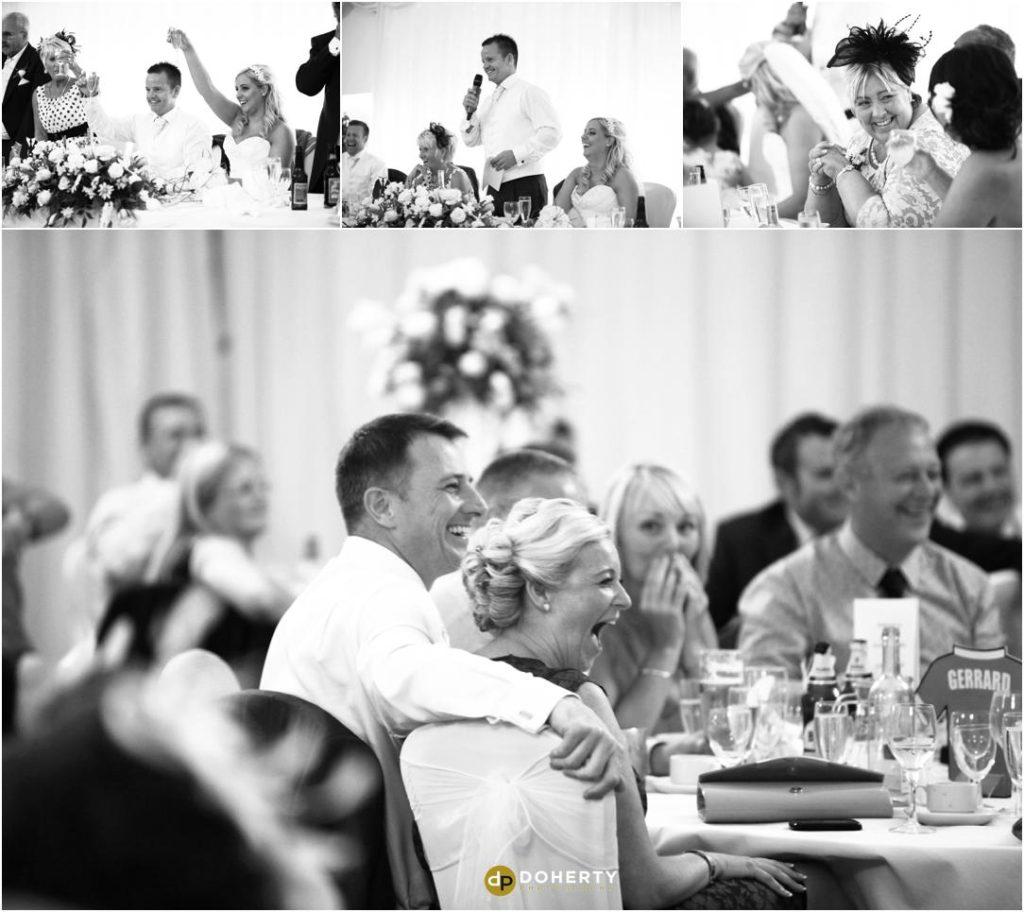 Wedding Speeches Photography - Marriott Forest of Arden