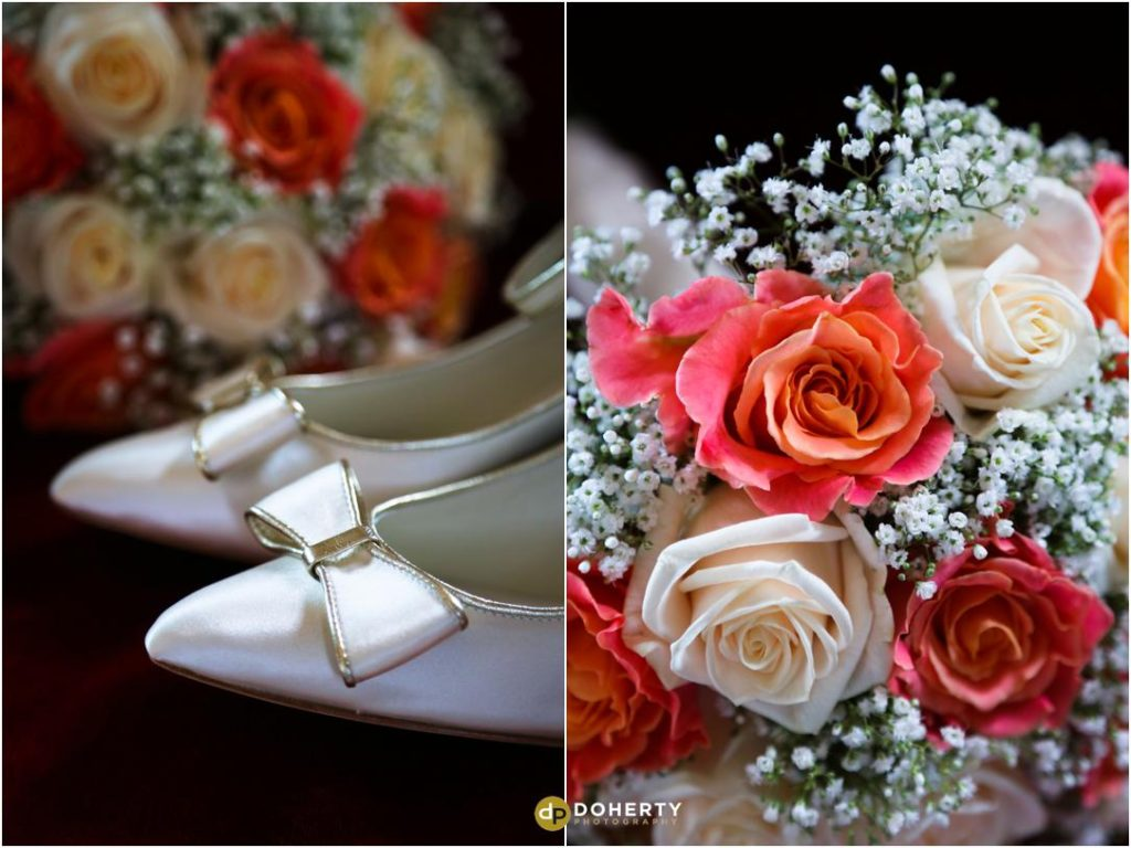 Kilworth House Wedding - Flowers and Shoes