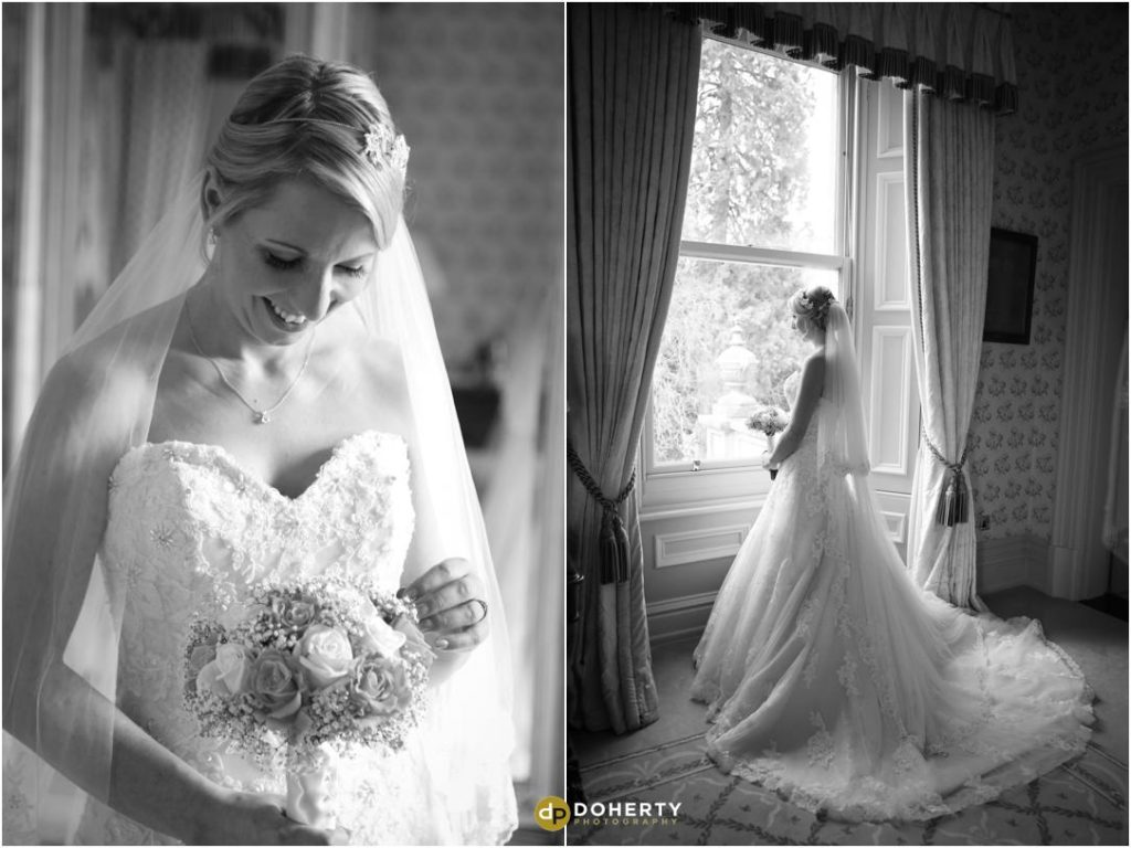 Bride preparations at Kilworth house