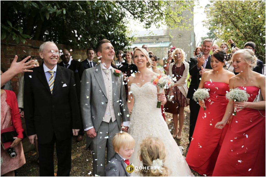 Wedding Confetti - Kilworth House