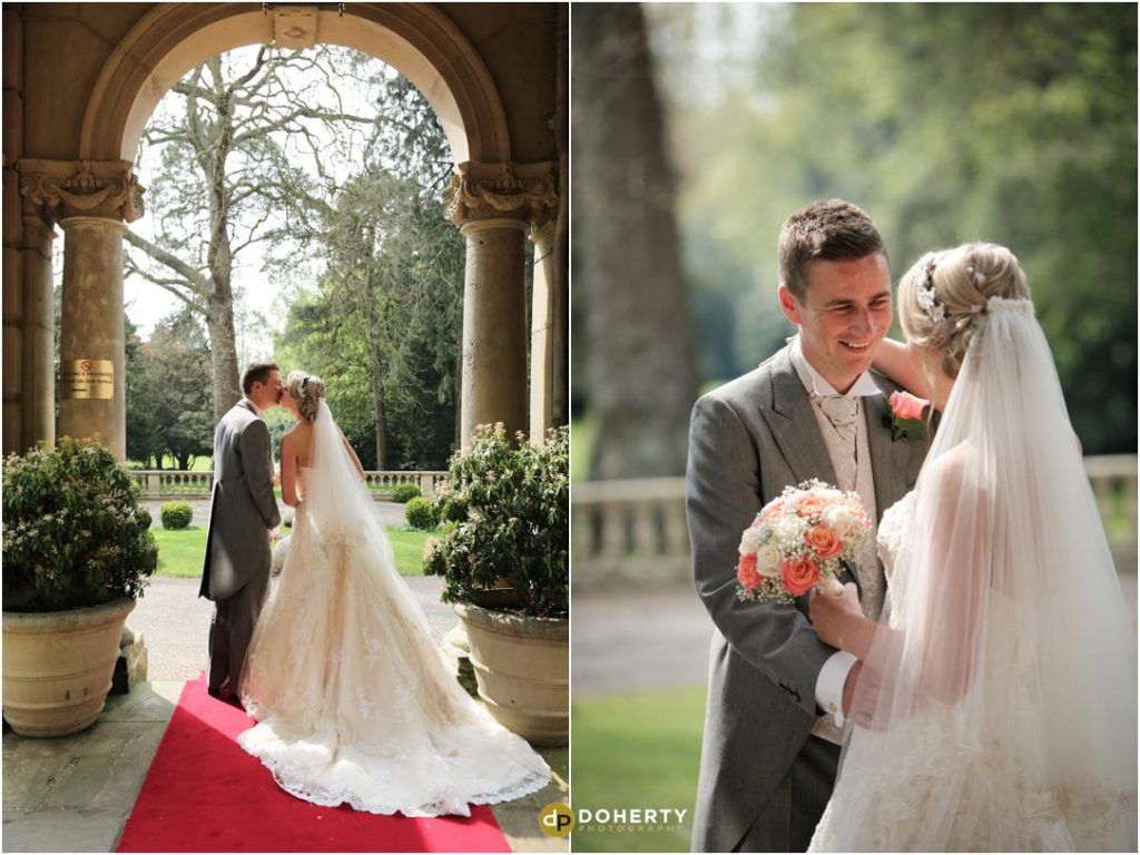 Wedding Bride and Groom - Kilworth House