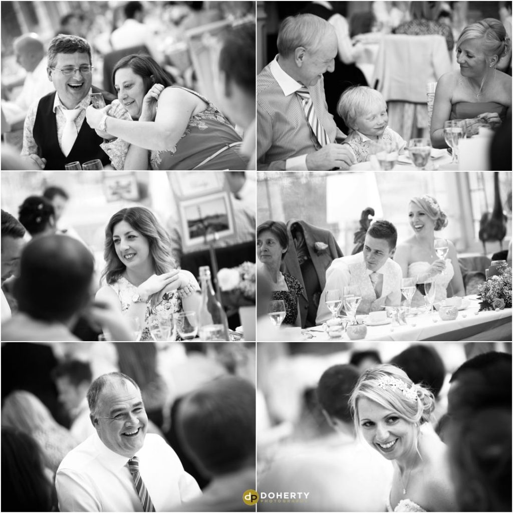 Wedding Breakfast Photography - Kilworth House