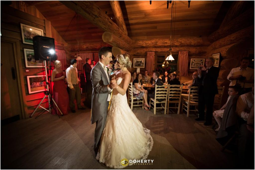 Wedding First Dance Photography - Kilworth House