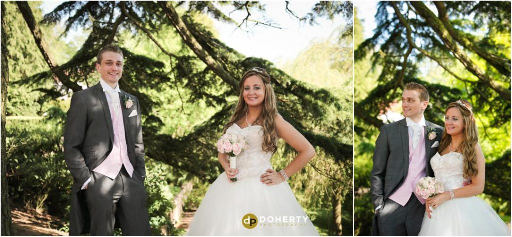 Nuthurst Grange Wedding Bride and Groom