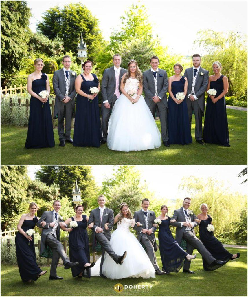 Nuthurst Grange Wedding Bridal Party