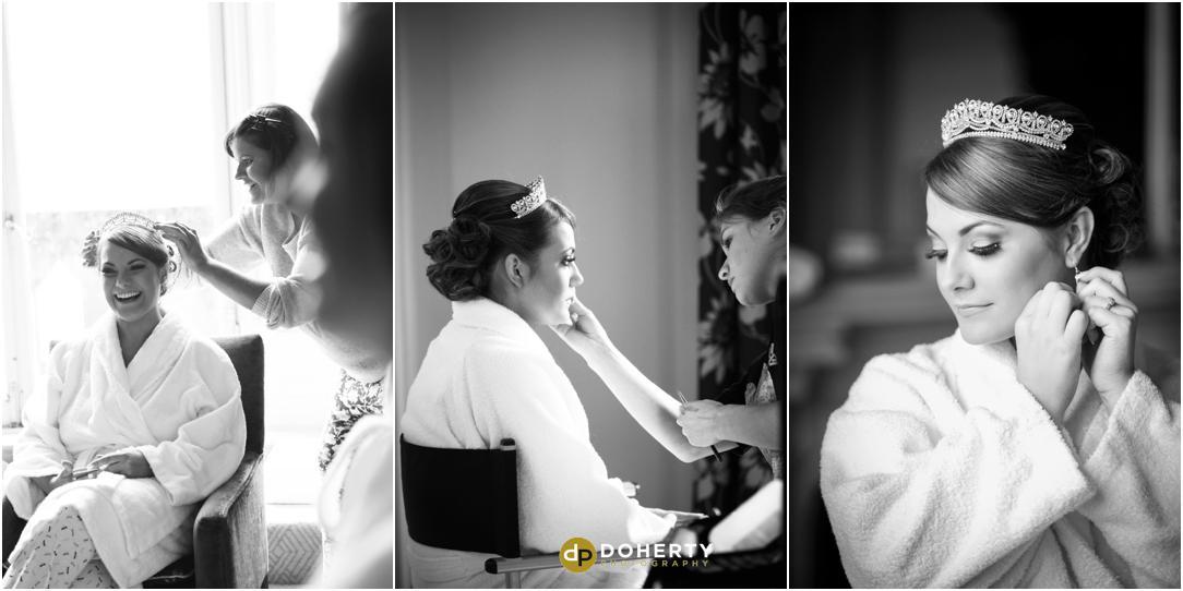 Walton Hall wedding preparations photography
