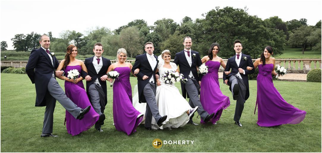 Walton Hall wedding Bridal Party photography