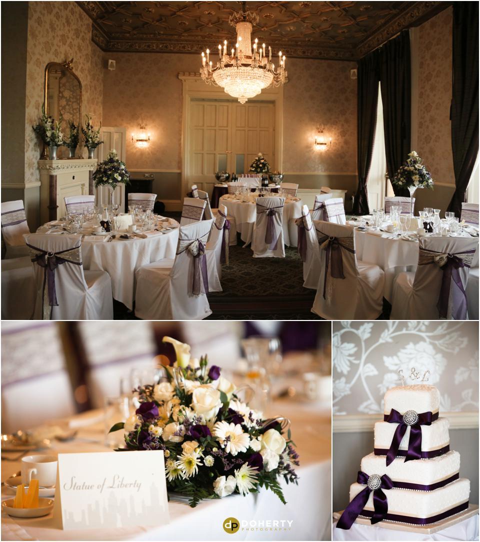 Walton Hall wedding venue setup photography