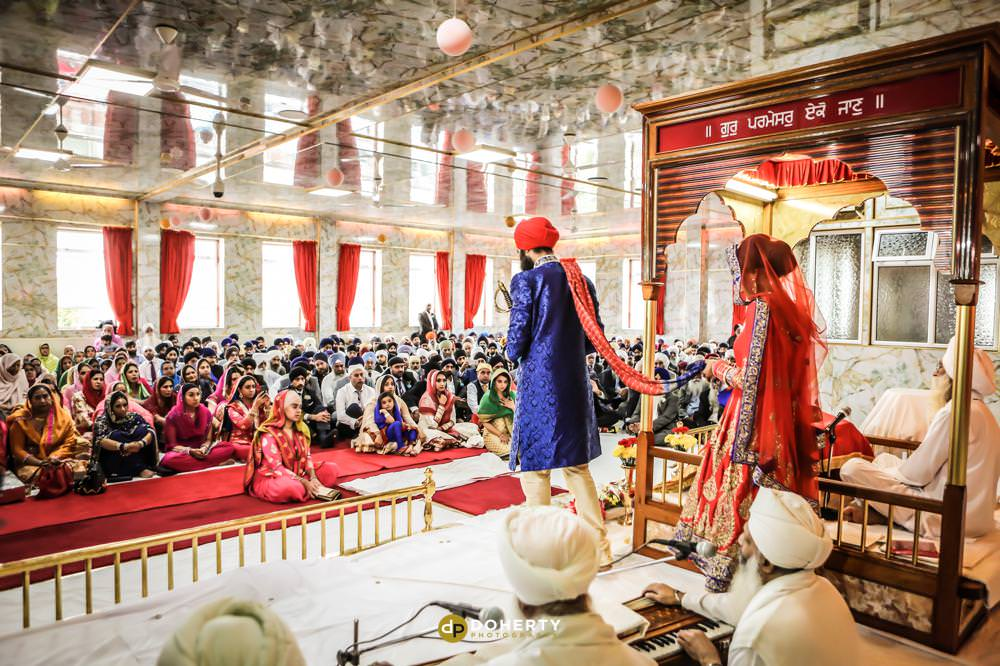 Sikh Wedding Photography - Warwickshire