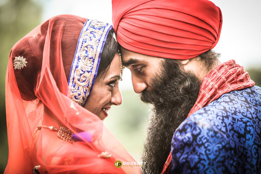 Asian Wedding Photography - Bride and Groom