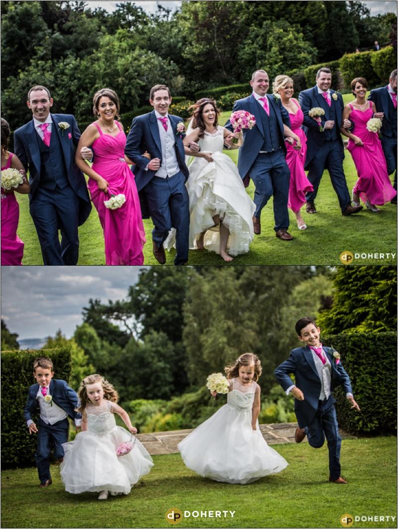 Bridal Party - Dunchurch Park