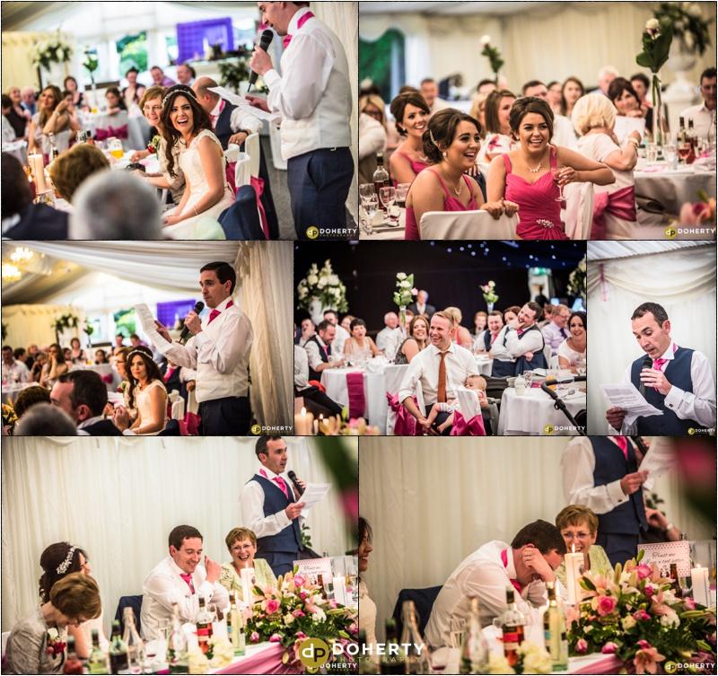 Wedding Speeches - Dunchurch Park