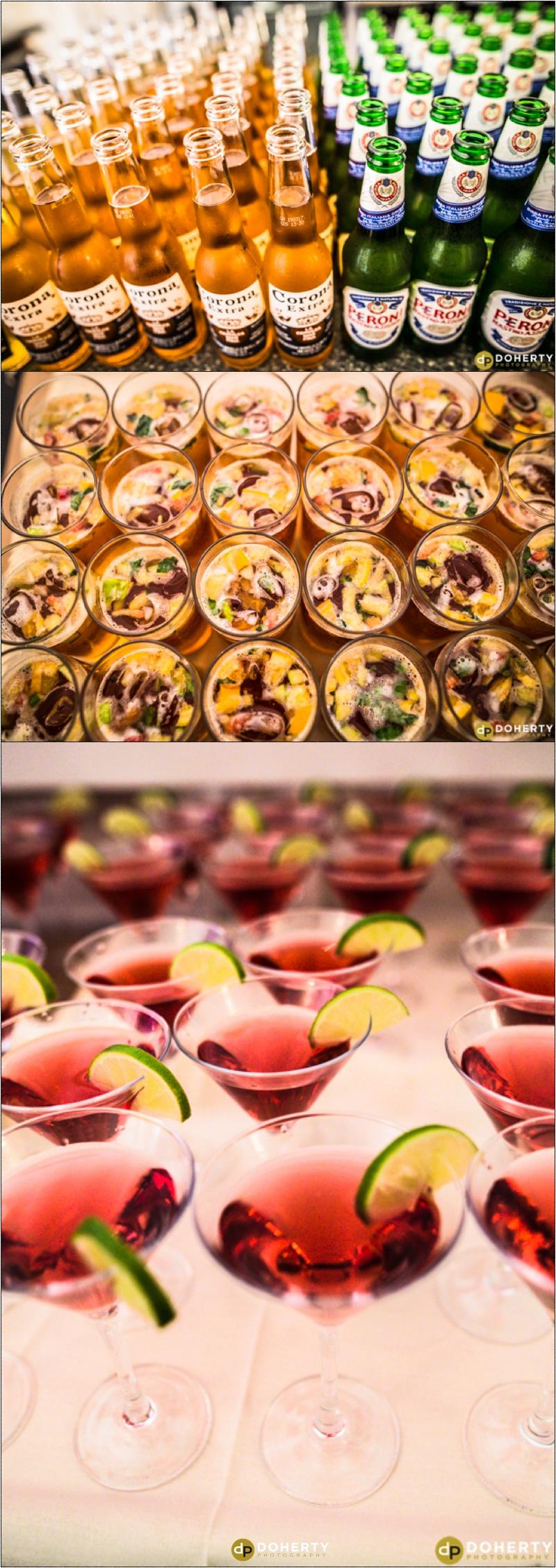 Wedding Drinks - Dunchurch Park