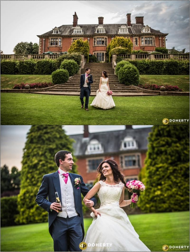 Wedding Photography - Dunchurch Park Couple