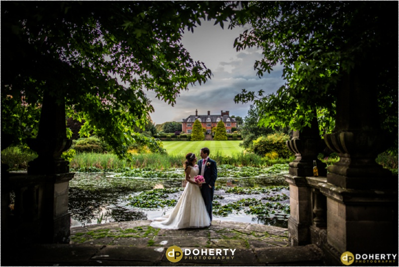 Wedding Bride and Groom - Dunchurch Park