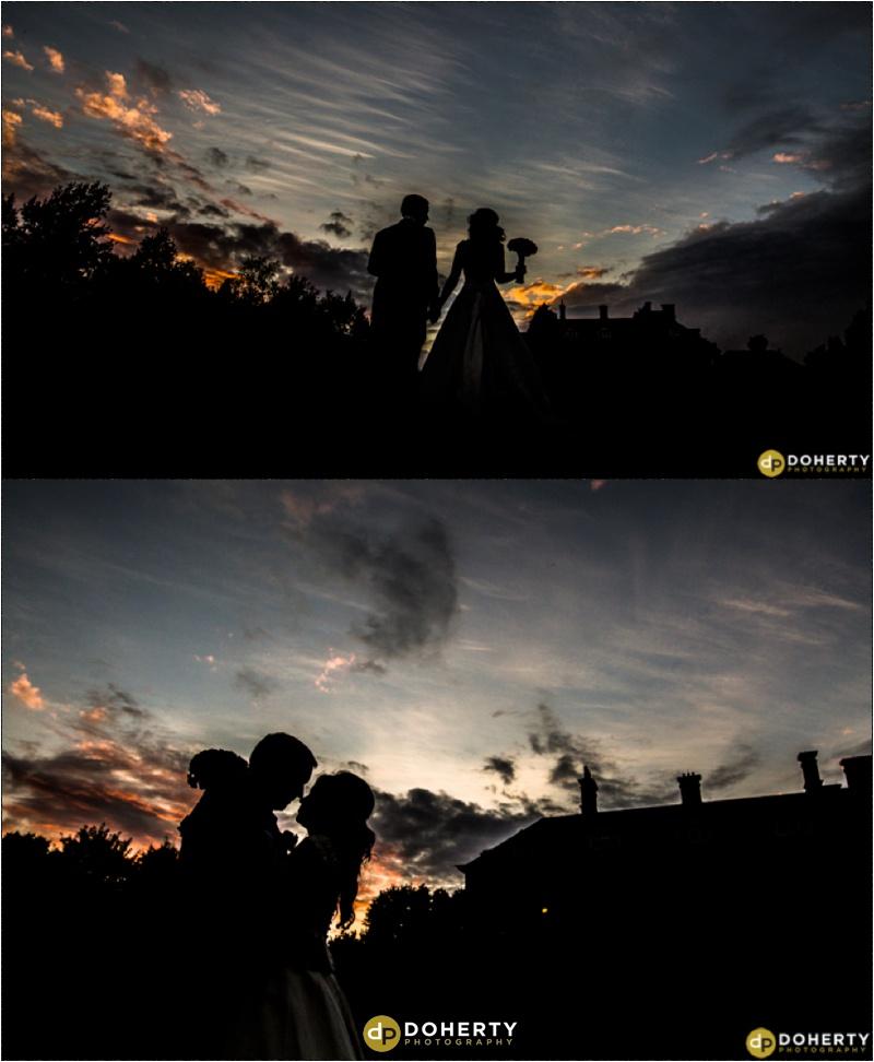 Wedding Silhouette- Dunchurch Park