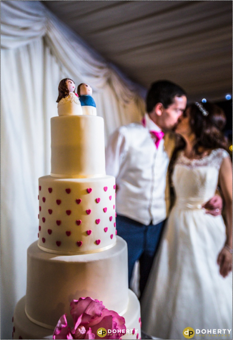 Wedding Cake Cutting - Dunchurch Park