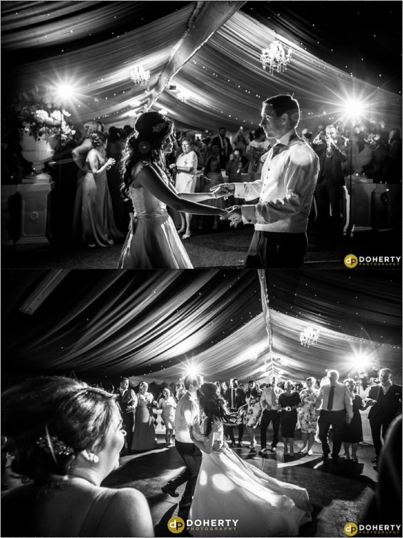 Wedding First Dance - Dunchurch Park