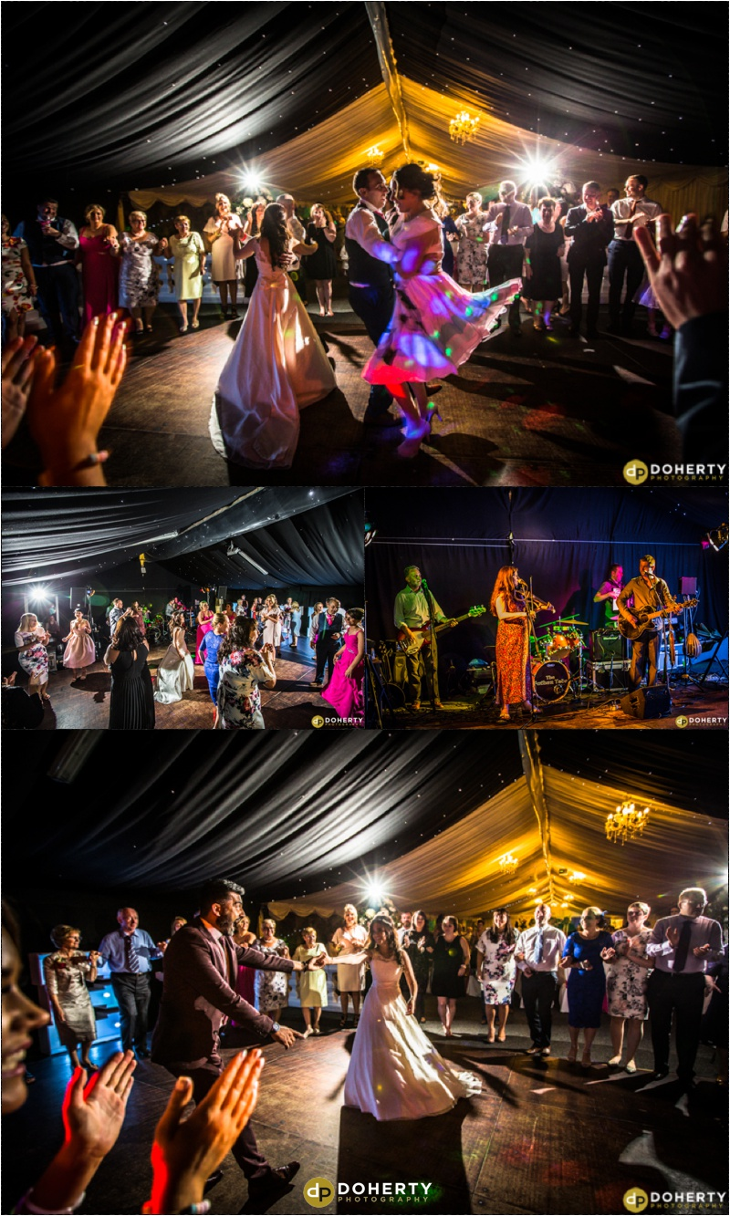 Dunchurch Park Wedding Partying