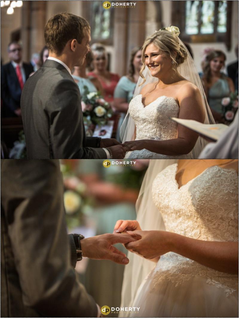 Church wedding in Warwick
