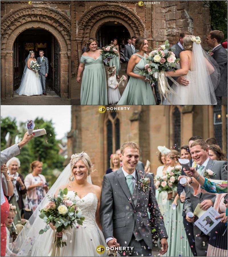 Kenilworth Church wedding photography