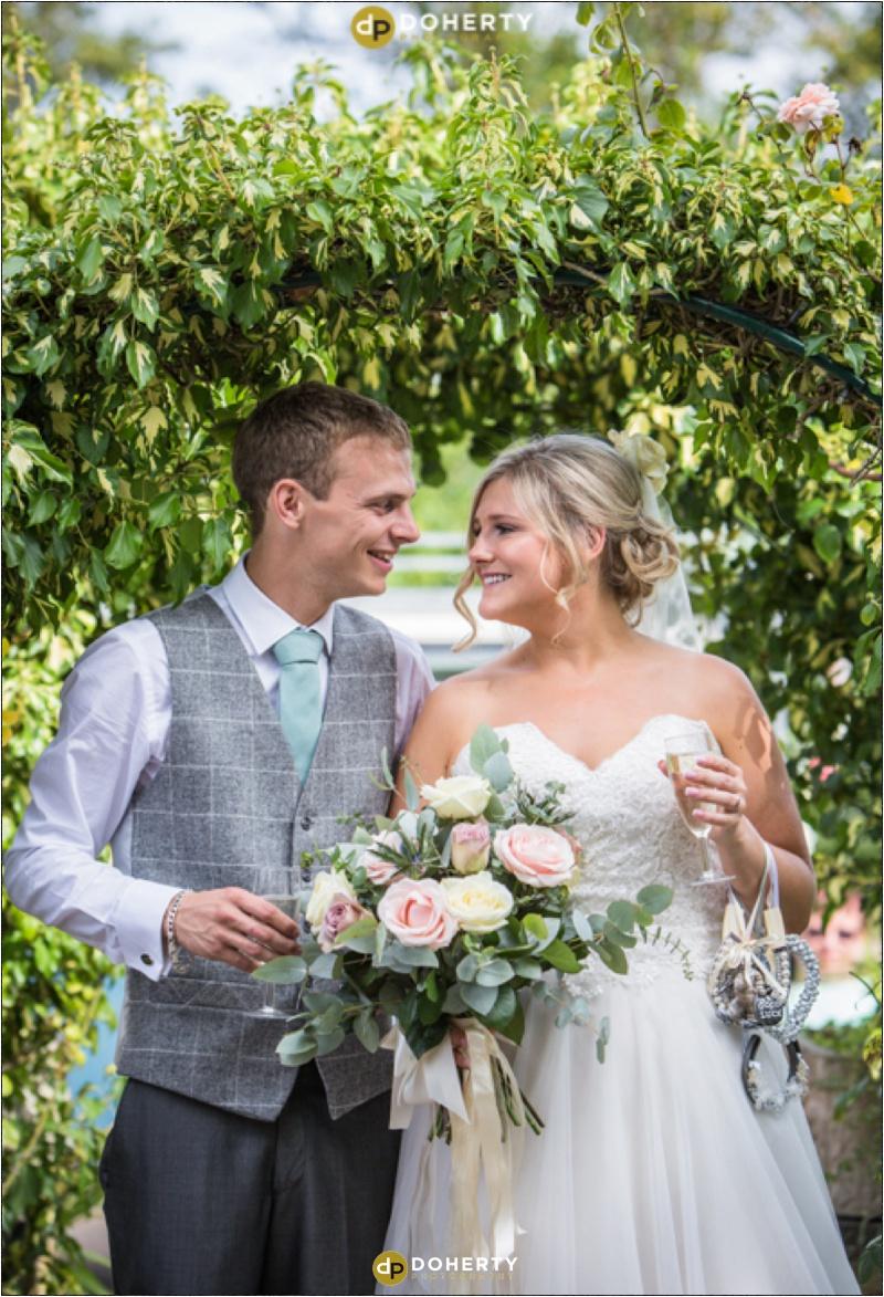 Wethele Manor - Bride and Groom photo