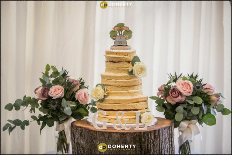 Wethele Manor wedding cake