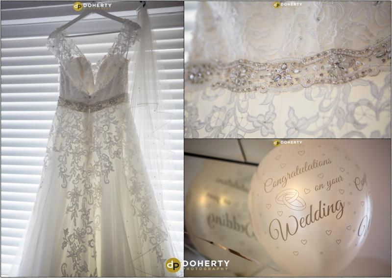 Wedding Dress - Stratford Park Hotel