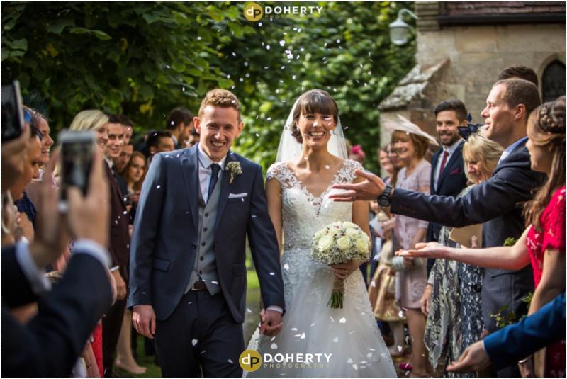 Wedding Confetti - Stratford Park Hotel