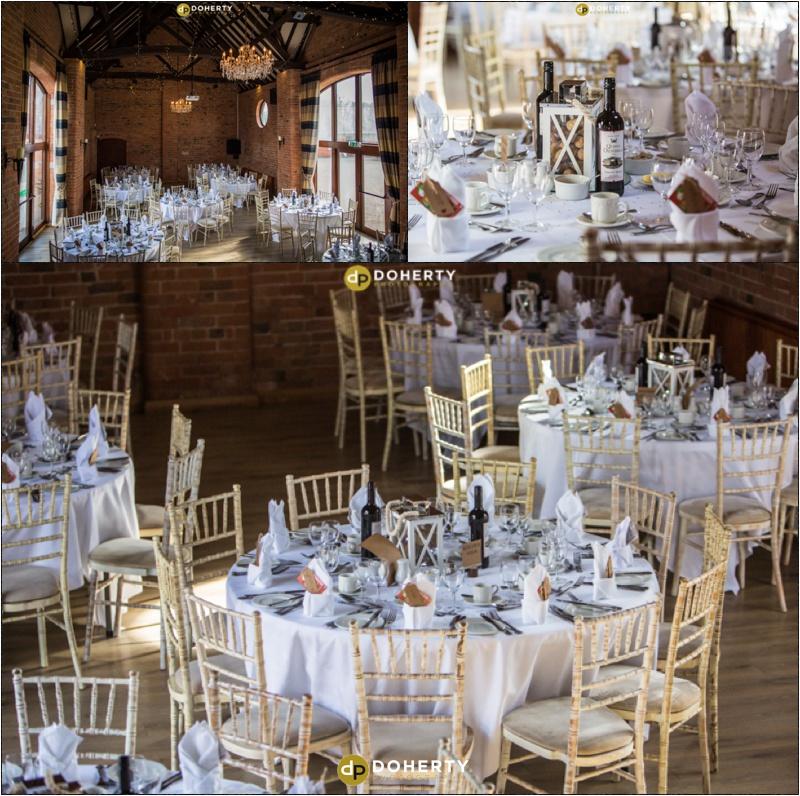 Wedding Room Set-up - Stratford Park Hotel