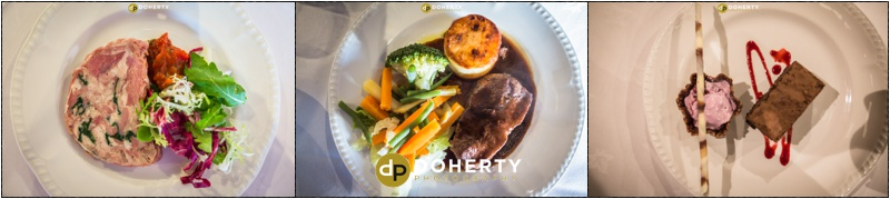 Wedding Food - Stratford Park Hotel