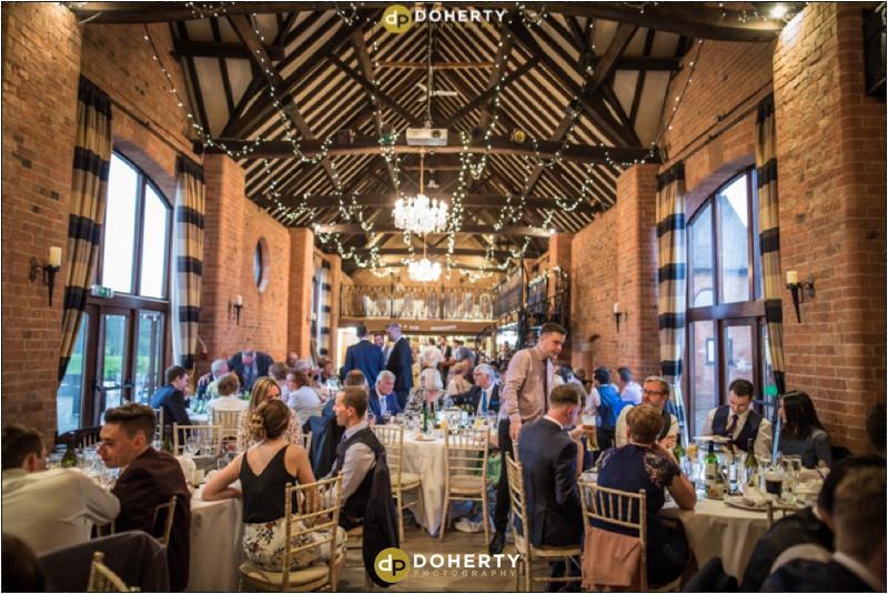Wedding Meal - Stratford Park Hotel