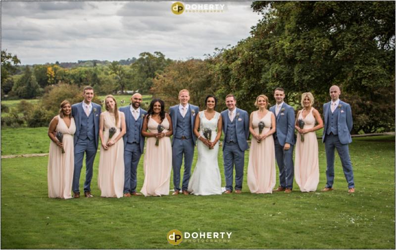 Ashton Lodge Wedding Bridal Party