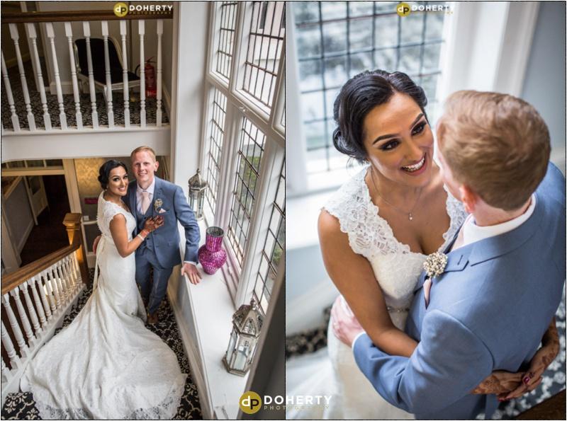Ashton Lodge Wedding Portraits