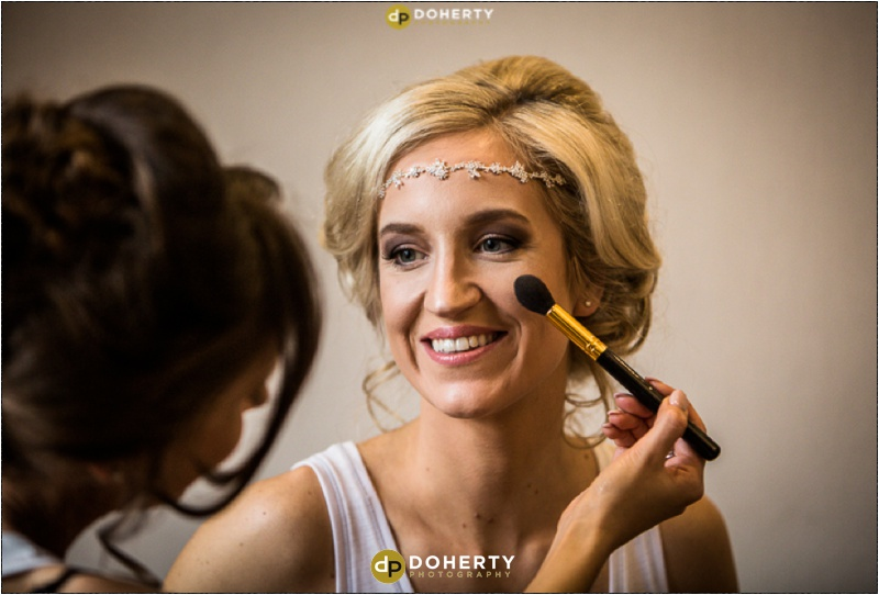 Moxhull Hall Wedding Bride Preparations