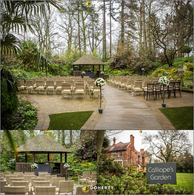 Moxhull Hall Wedding Outdoor Venue